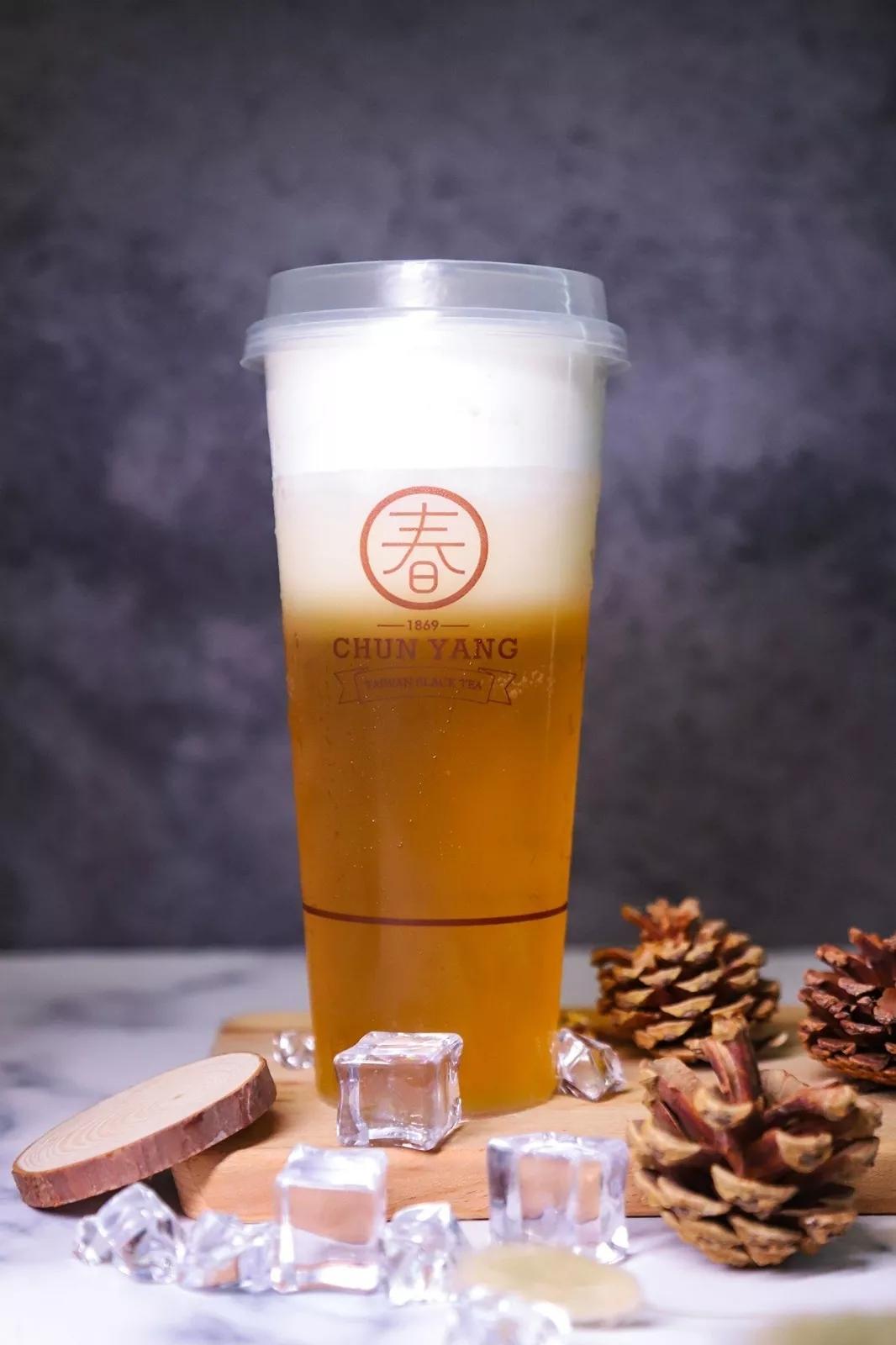 芝士玛奇朵绿茶