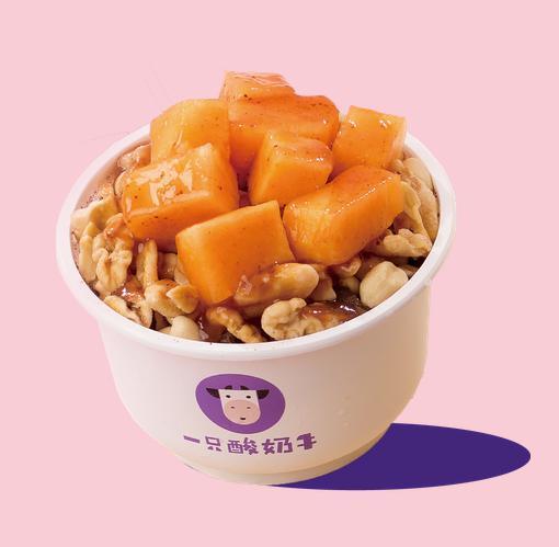 黄桃味刨酸奶