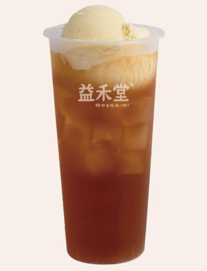 冰淇淋红茶-益禾堂