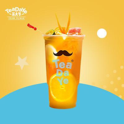 霸王缤纷奶茶