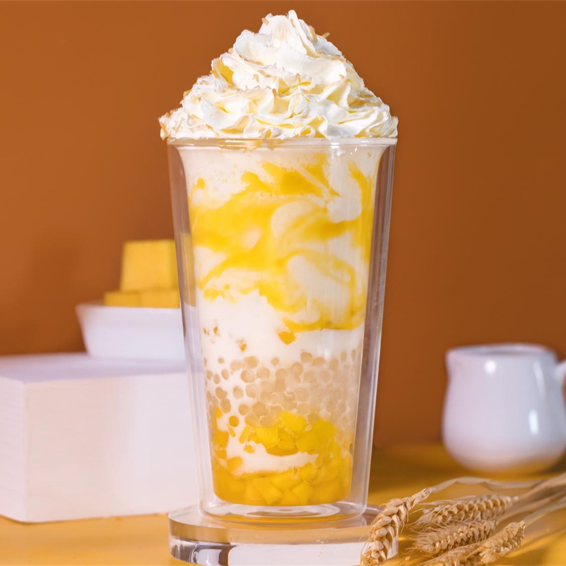 雪顶芒果鲜奶