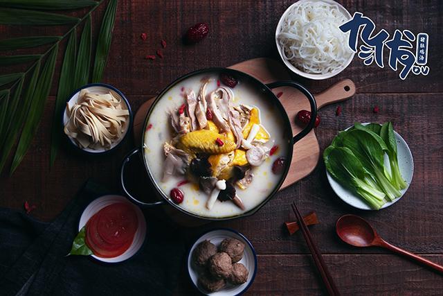 潮汕猪肚鸡汤饭