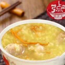 排骨小米粥